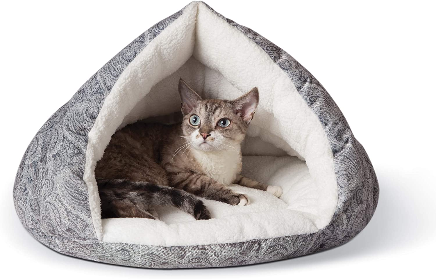 K&H PET PRODUCTS Self-Warming Hut Cat Bed,