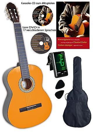 Clifton - Guitarra de concierto de 1/4 (libro y CD en alem?n): Amazon.es: Instrumentos musicales