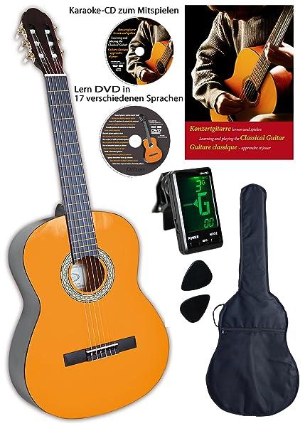 Clifton - Guitarra de concierto de 1/4 (libro y CD en alem?