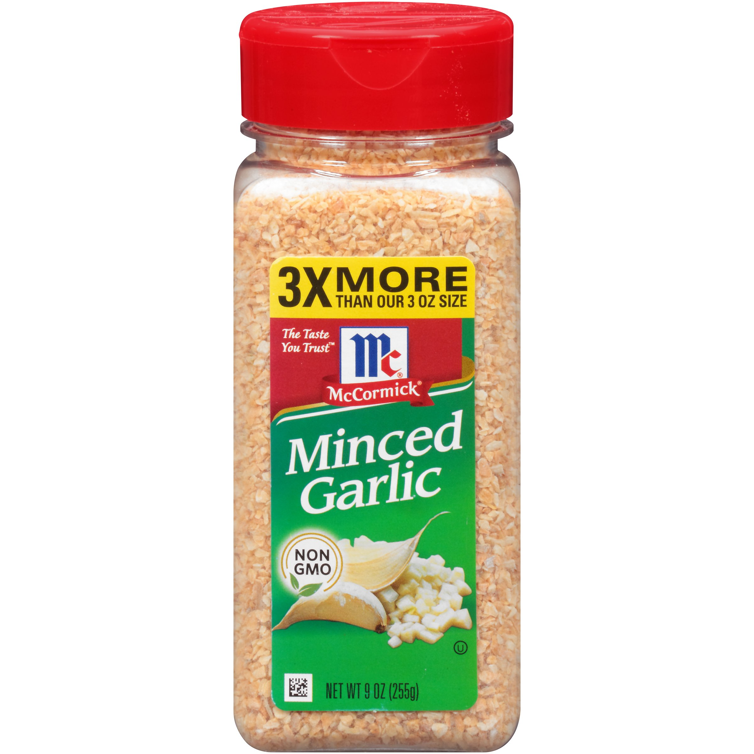McCormick Minced Garlic, 9 oz