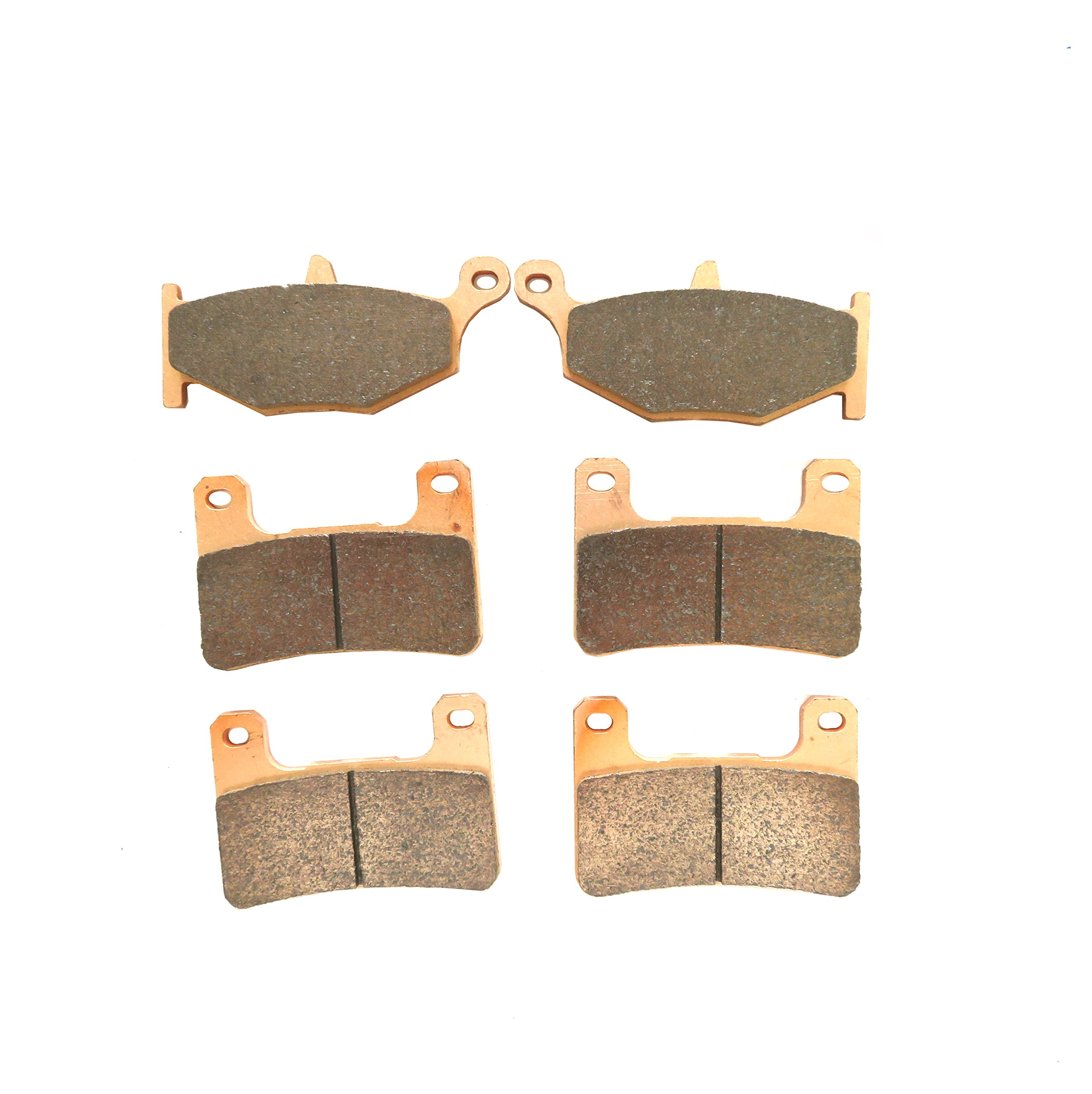 Front and Rear Sintered Brake Pads for Suzuki GSXR 600 K 2006 2007 2008 2009 2010