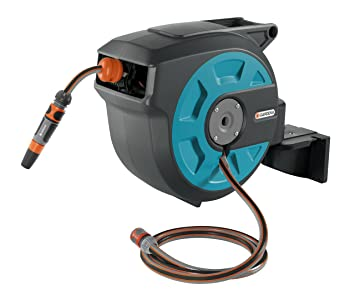Superbe GARDENA Retractable Hose Reel 50 Feet
