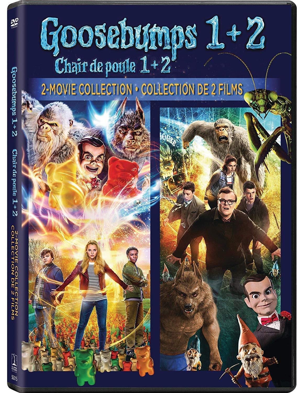 Amazon.com: Goosebumps: 2-Movie Collection (Goosebumps / Goosebumps 2:  Haunted Halloween) [DVD]: Movies & TV