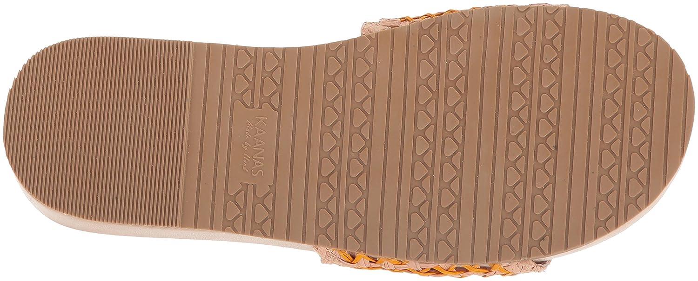 KAANAS Women's Akumal Woven Pool Slide Sandal B075N7SKCQ 8 B(M) US|Sorbet