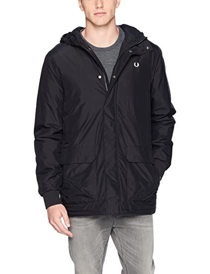 a4df04bb7ac9 Fred Perry Men's Stockport Jacket Parka: Amazon.co.uk: Clothing