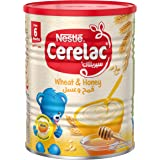 Cerelac Infant Cereals with Iron Plus Wheat and Honey, 400g Tin