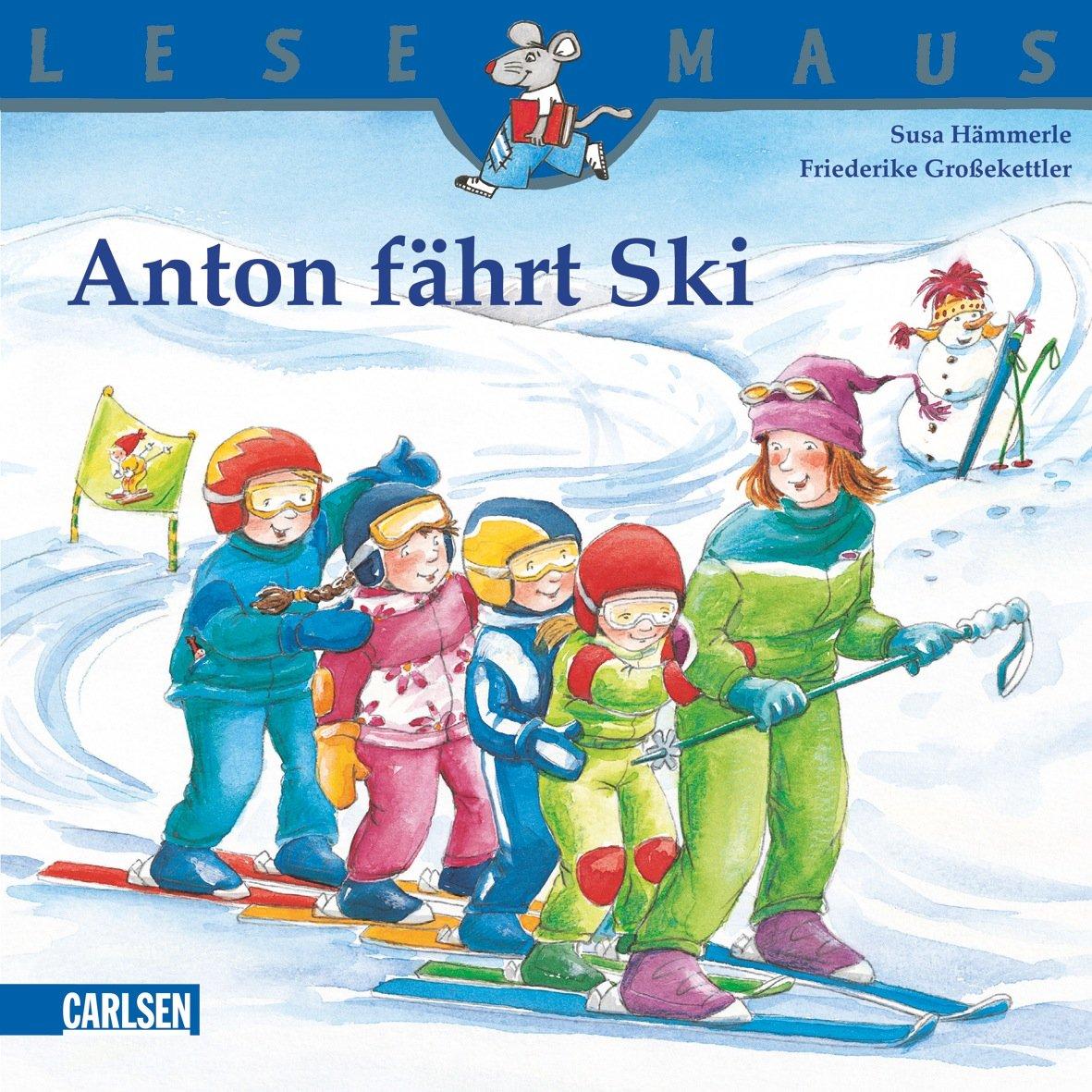 LESEMAUS, Band 126: Anton fährt Ski