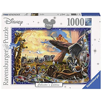 Disney Collectors Edition Lion King Panorama Puzzle 1000 Piece Professional Soft Click Jigsaw Ages 12+: Toys & Games