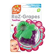 RaZbaby RaZ-Teether, Grapes, 4+ Months