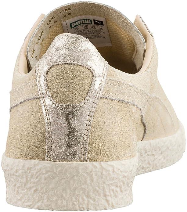 41d48fdd272f Puma Te-Ku Suede Damen Sneaker Graubraun  Amazon.de  Schuhe   Handtaschen