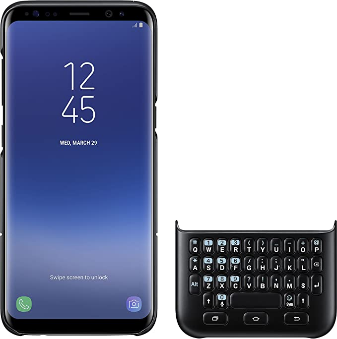 Samsung EJ-CG950 QWERTZ Negro Teclado para móvil: Amazon.es ...