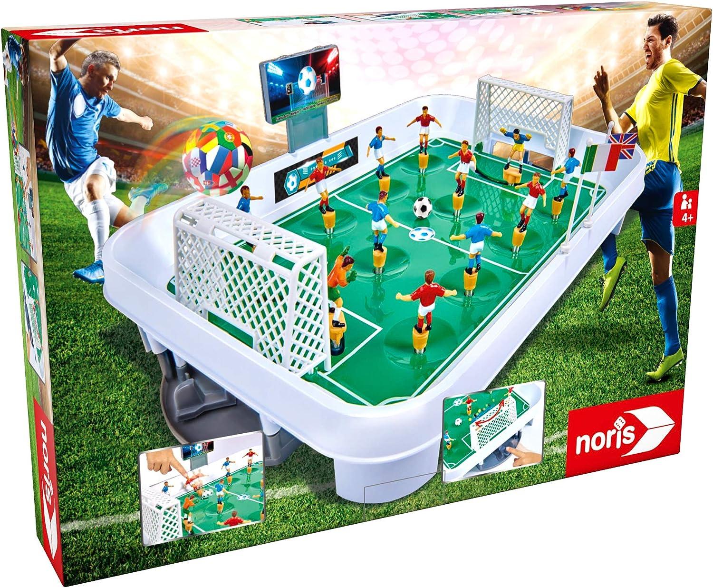 noris 606174469 Mesa Juego de acción de fútbol para Toda la Familia a Partir de 4 años Juguete: Amazon.es: Juguetes y juegos