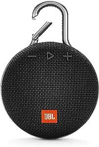 JBL Harman CLIP 3 Wireless Portable Speaker - Black