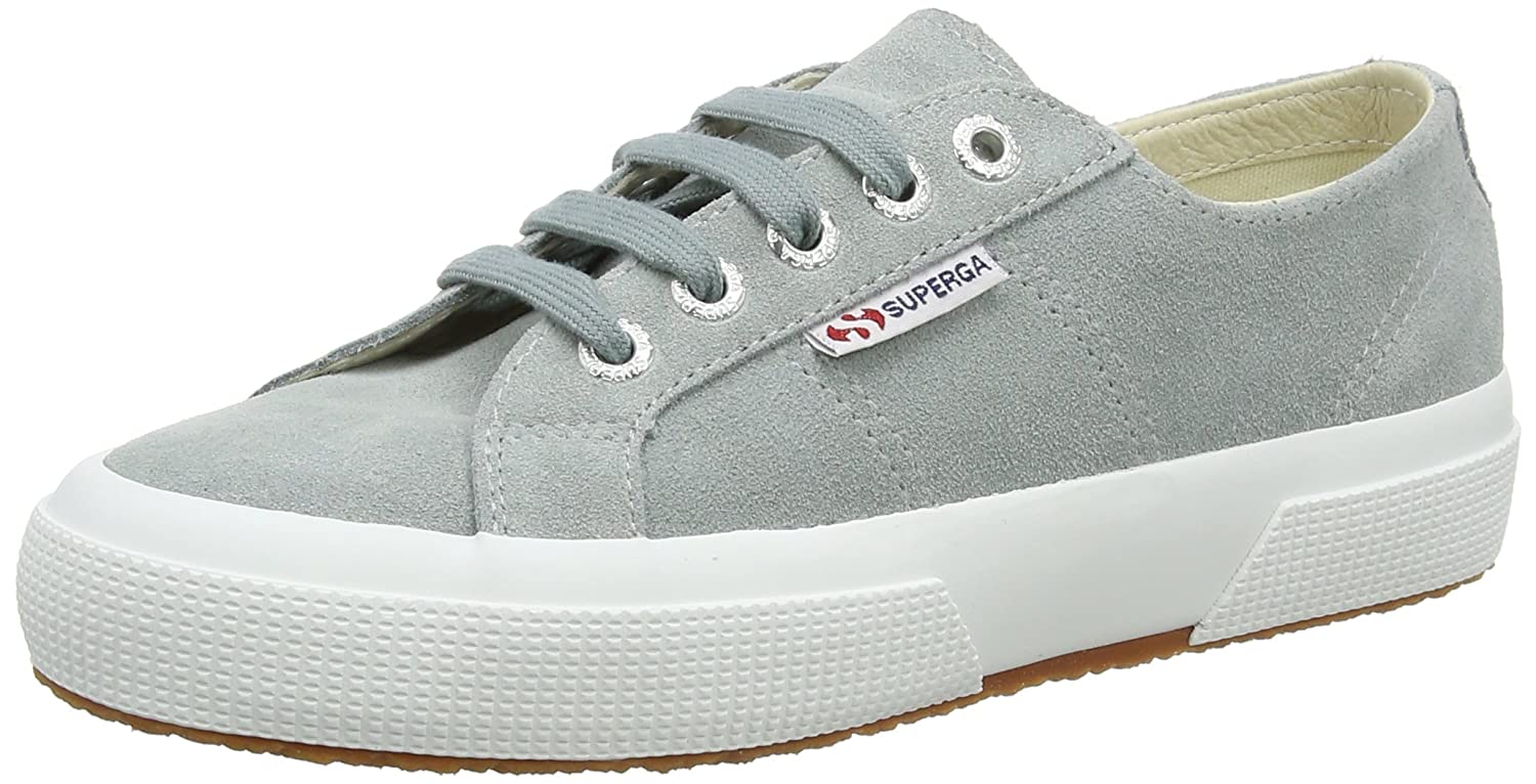 Superga 2750 Sueu, Zapatillas Unisex Adulto 35.5 EU|Gris (Light Grey 506)