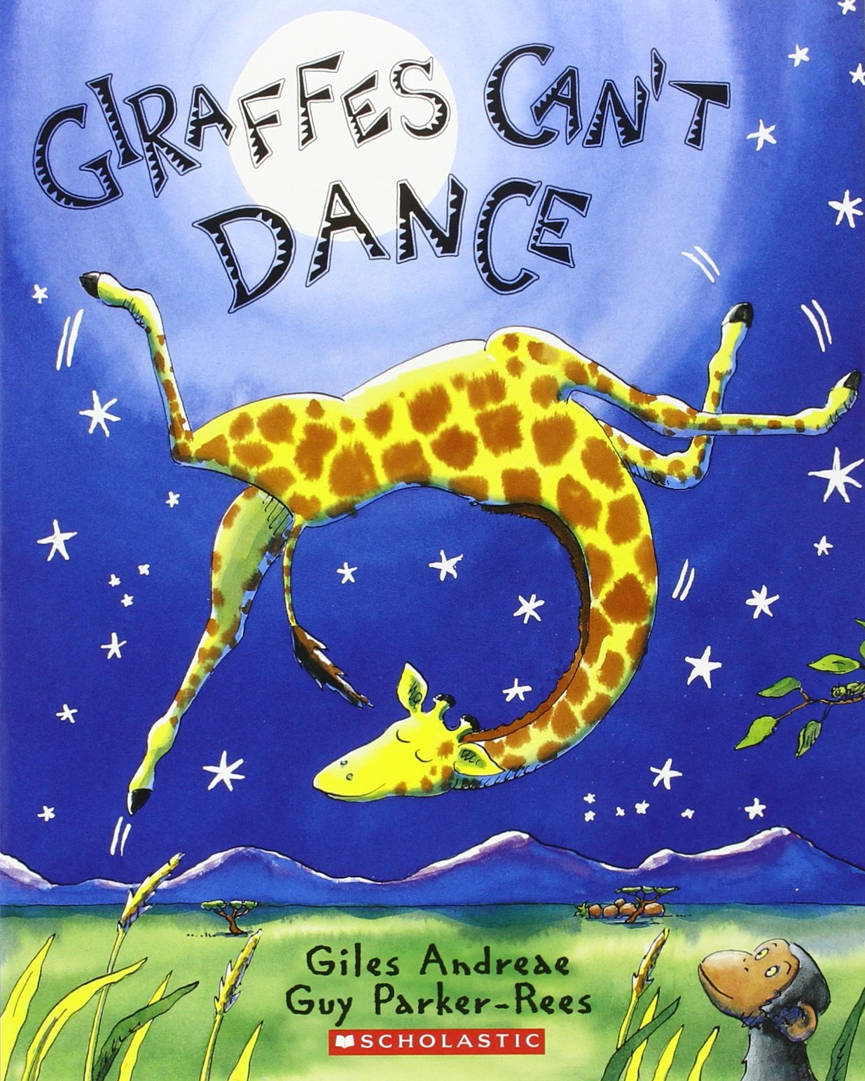 Giraffes Can't Dance: Audiobook Read-Along (Paperback and CD): Giles  Andreae, Guy Parker-Rees, Billy Dee Williams: 8601234582717: Amazon.com:  Books