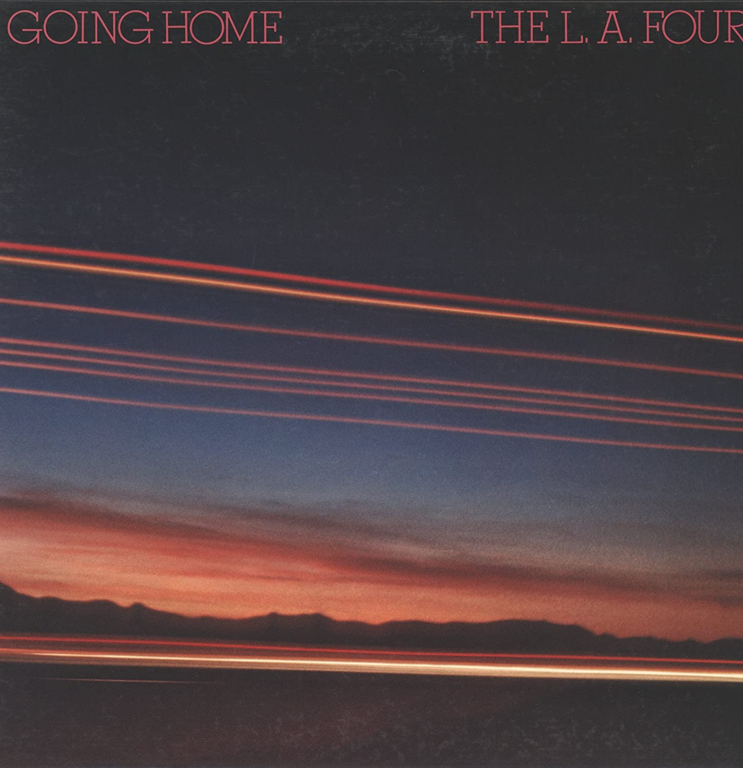 L.A. Four : Going Home (Japnese Direct to Disc)