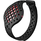 3D Fitness Tracker & Real Time Audio Coach, Moov Now:Swimming Running Water Resistant Activity Calories Tracker with Sleep Monitor, Bluetooth Smart Wristband for Android and iOS, Fusion Red