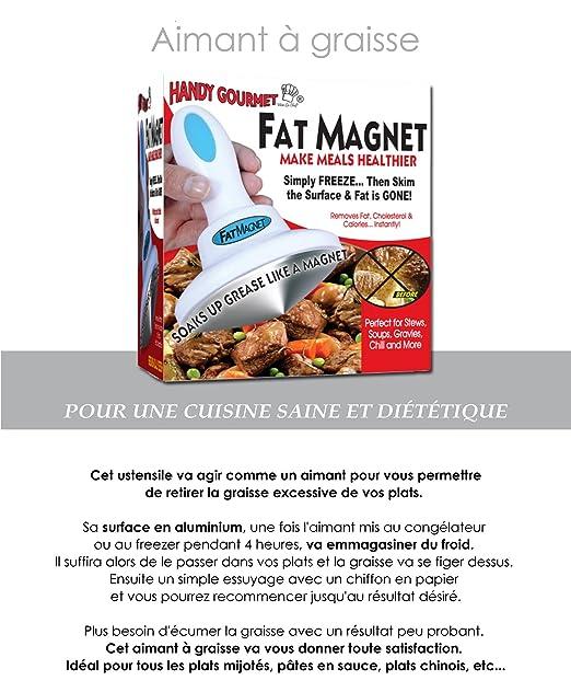 AIMANT A GRAISSE Pour Une Cuisine Saine Et Diététique Amazonfr - Ecumer cuisine