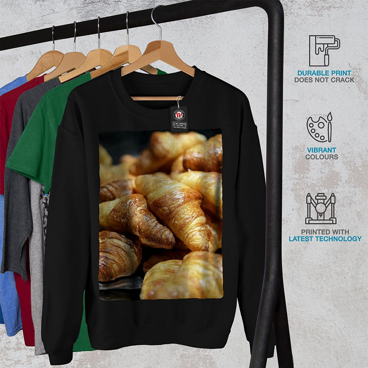 Dessert Casual Jumper wellcoda Bakery Kitchen Sweet Mens Sweatshirt