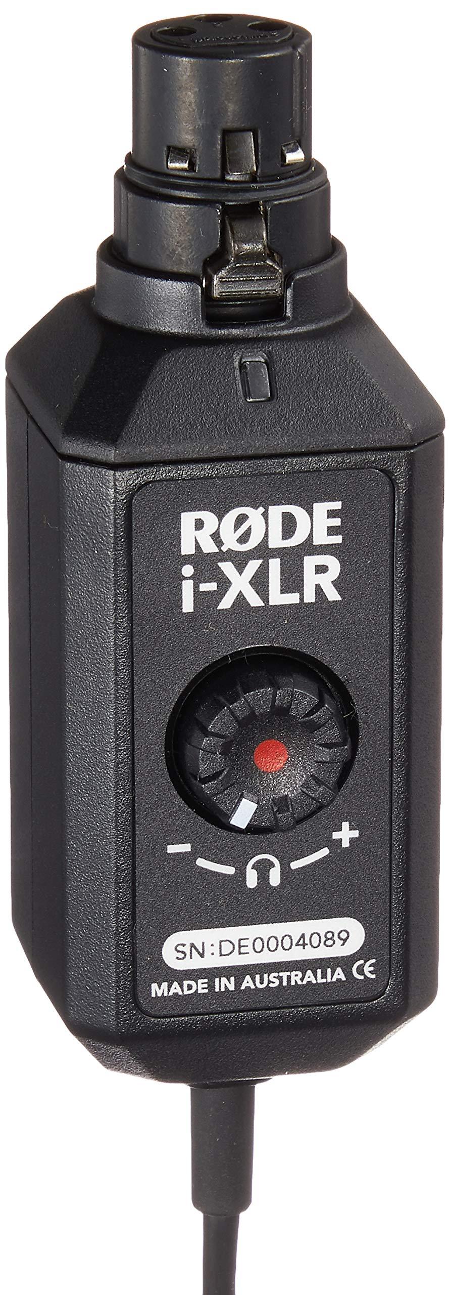 Rode i-XLR Digital XLR Interface para dispositivos Apple iOS