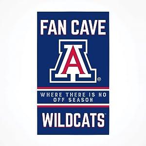P. Graham Dunn Collegiate Fan Cave University of Arizona NCAA 24 x 14 Birch Wood Pallet Décor Sign