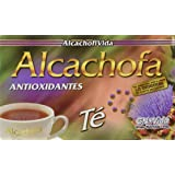 MADE IN USA - NEW TEA Alcachofivida Box with 30 tea bags - NUEVO TEA Alcachofivida