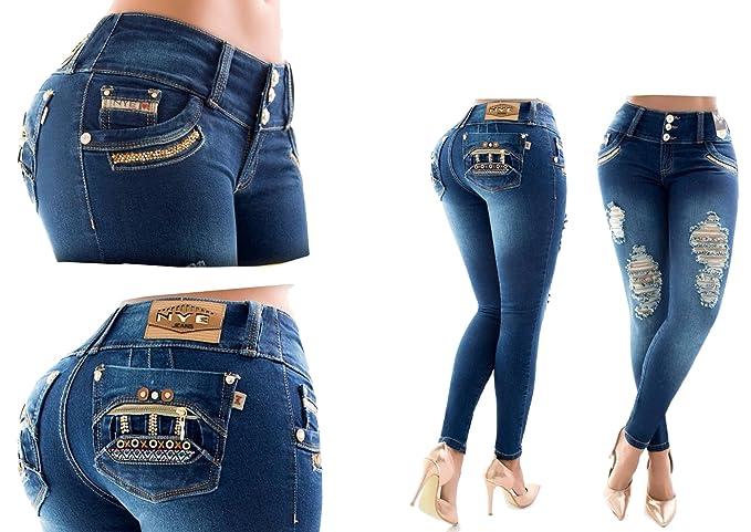 d0a99a0222 HADABELLA I veri! Jeans push up fatto in COLOMBIA, 4 tasche ...