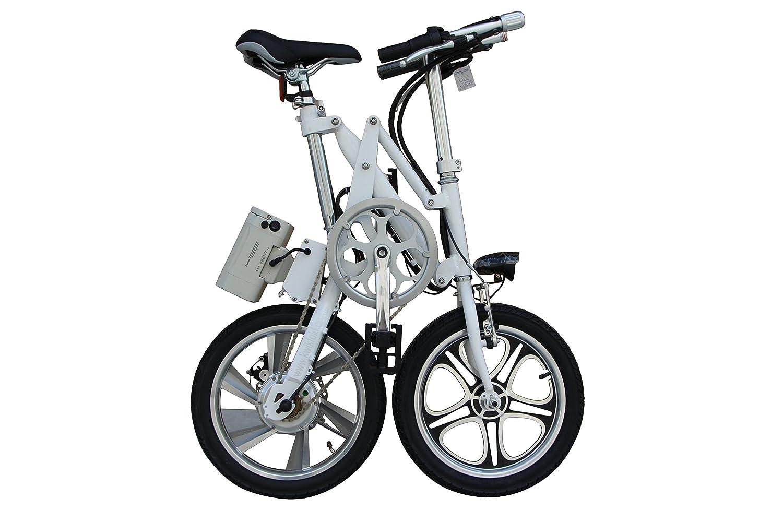 Bicicleta eléctrica plegable Xite KwikFold City (negro): Amazon.es: Deportes y aire libre