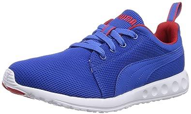 72ada80dc4b8 Puma Unisex-Erwachsene Carson Runner Hallenschuhe Blau (05 Strong Blue-high  Risk red