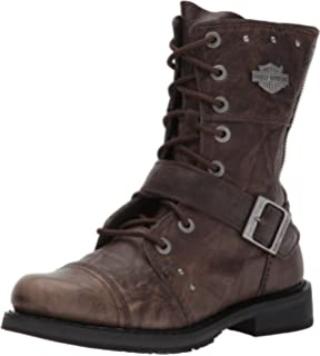 Amazon.com | Harley-Davidson Wo's Balsa Work Boot | Mid-Calf