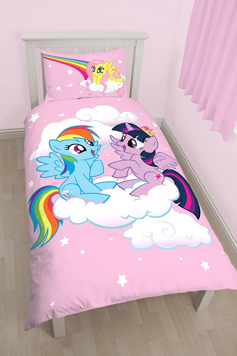 "My Little Piony ""Equestria Single Duvet Set - Large Print Design"