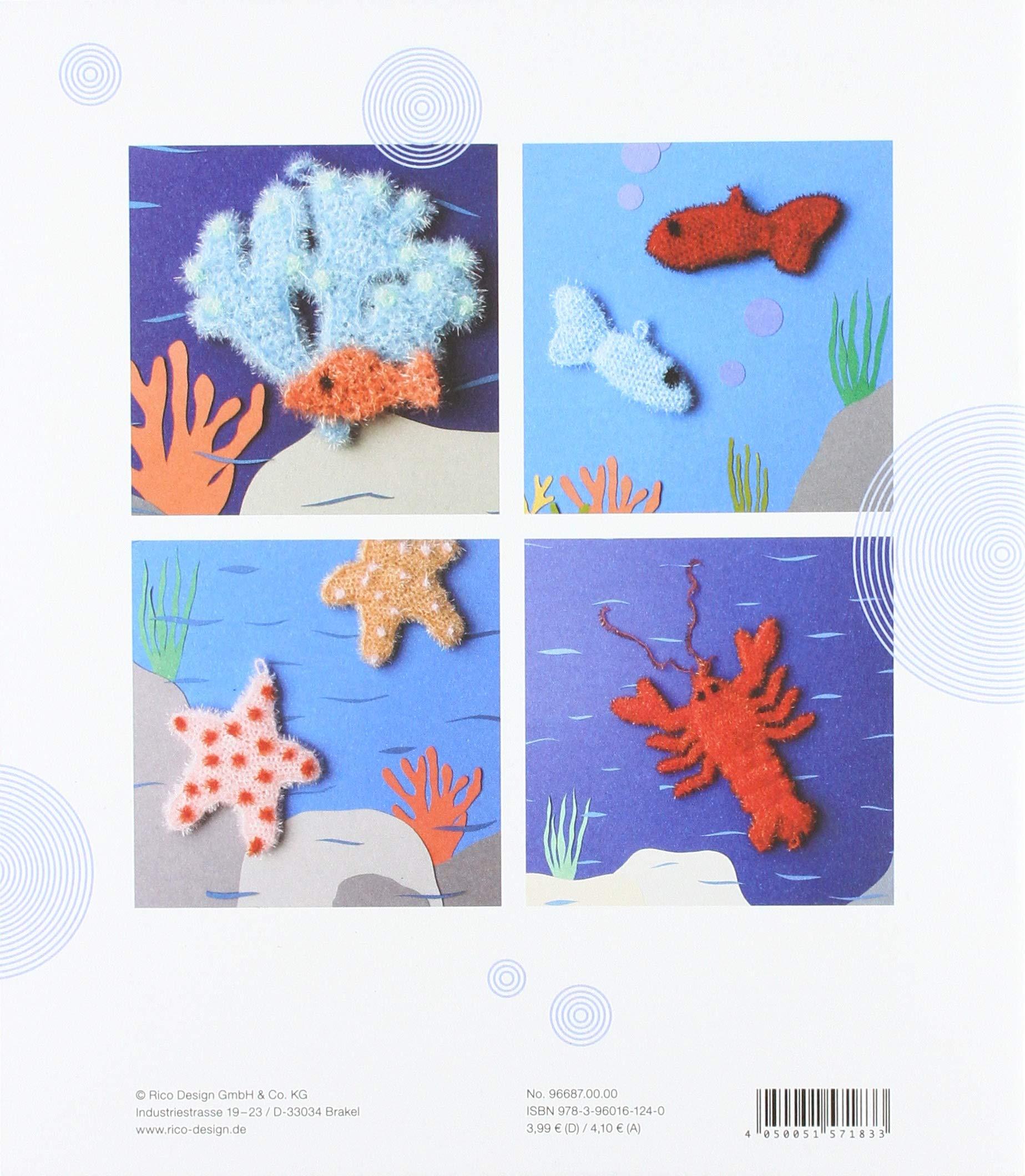 Rico Design Neuheit 2018!! Creative Bubble Beyond The Sea Deutsche Ausgabe Lustige Sp/ülschw/ämme H/äkeln