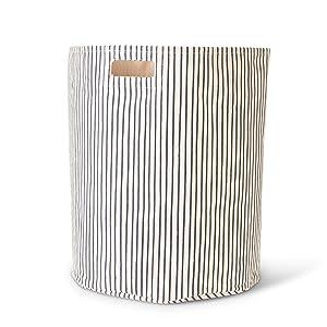 Pehr Stripes Away Hamper - Ink, Multi