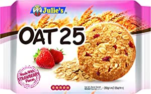 Julie's Oat 25 Strawberry Biscuits, 200g