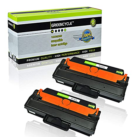 GREENCYCLE 2 Pack MLT-D115L D115L Black High Yield Toner Cartridge Compatible for Samsung Xpress SL-M2830DW SL-M2880FW SL-M2670 SL-M2620 SL-2620ND ...
