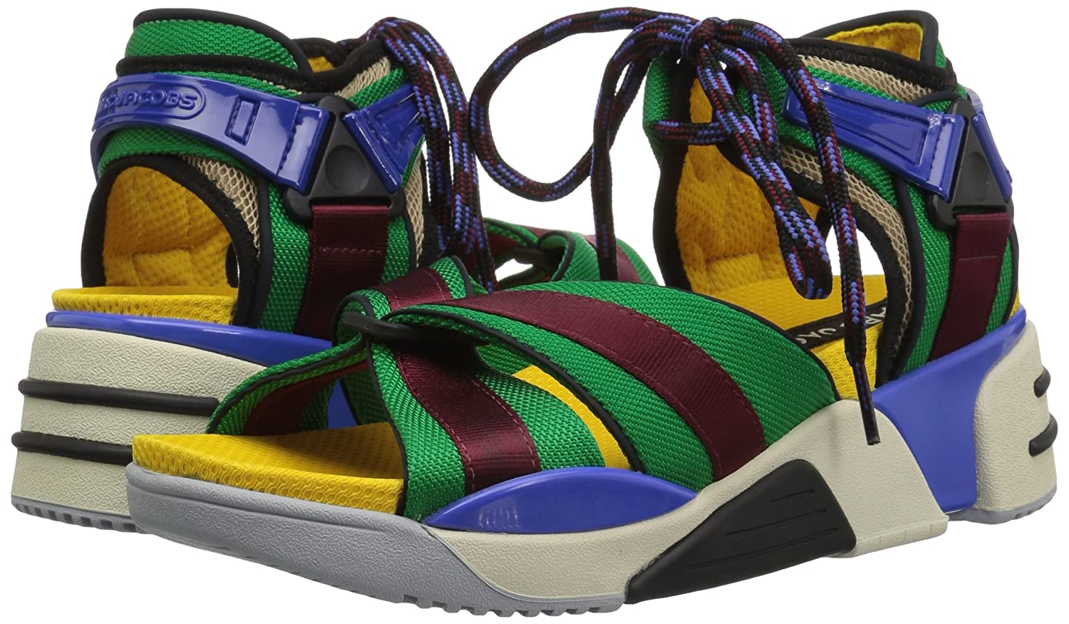 Marc Jacobs Women's Somewhere Sport Sandal B0787BK6T2 38 M EU (8 US)|Blue/Multi