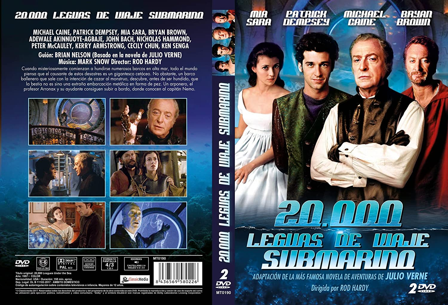 20 000 Leguas De Viaje Submarino 20 000 Leagues Under The Sea 1997 Movies Tv