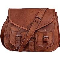 KPL Sac à main en cuir véritable pour femme 35,6cm, sac fourre-tout, sac en bandoulière