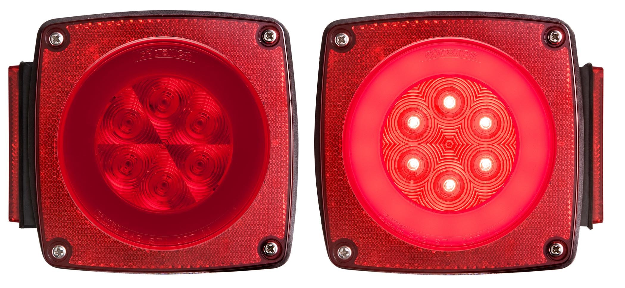 Optronics TLL190RK Red LED Combination Tail Light Kit by Optronics