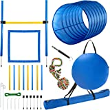 CHEERING PET Dog Agility Equipment, 28 Piece Dog Obstacle Course for Training and Interactive Play Includes Dog Agility…