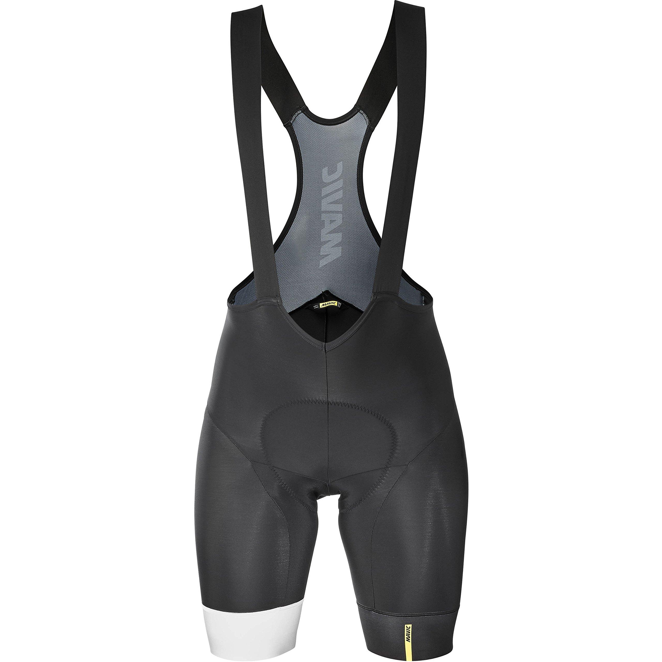 Mavic Essential Bib Short - Men's Black/White, XL