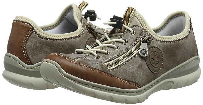 Rieker Scarpe L3269 e Donna borse Sneaker Infilare it Amazon H1wH7 f0854c6d90b