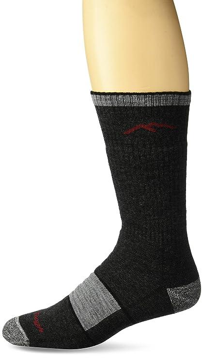 Darn Tough - Calcetines de Lana de Merino para Hombre, Hombre, 1405, Negro