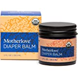 Motherlove Soft Bottom Baby Balm (29.5 mL) Cloth Diaper Safe Herbal Ointment – Free of Zinc Oxide & Petroleum – Soothes Baby'