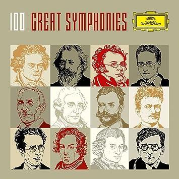 209b7cdf74b7 100 Great Symphonies (DG box set)  Amazon.co.uk  Music