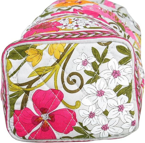 4257df1871da Vera Bradley Tea Garden Cheers to You Wine Bag  Handbags  Amazon.com