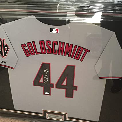 lowest price 473c8 b982e Paul Goldschmidt Arizona Diamondbacks Custom Framed ...