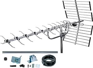 SLx 27985K4 - Juego de antena dorada y accesorios de conexión para televisión digital (4G, 64 elementos) (importado): Amazon.es: Electrónica