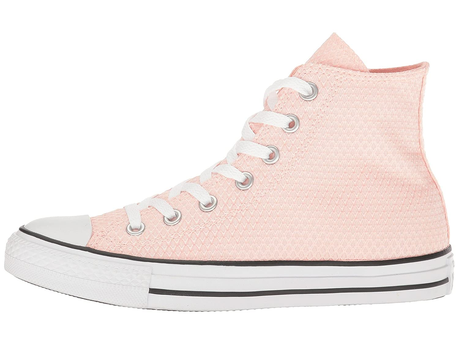 Converse Unisex Chuck Taylor All-Star High-Top Casual Sneakers in Classic Style and Color and Durable Canvas Uppers B01HQQ517C 11 B(M) US White/Vapor Pink/White