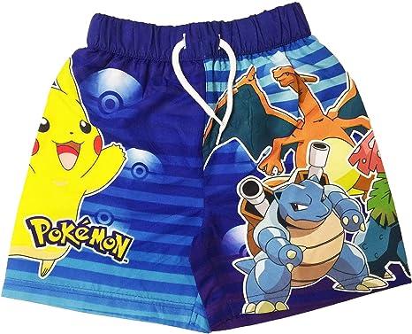 3aa788119c Licensed Boys Pokemon Swimming Shorts Ages 3 to 10 Years: Amazon.co.uk:  Clothing